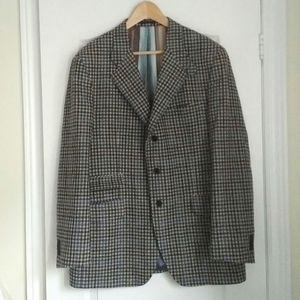 ETRO - Briseide cashmere and wool check blazer